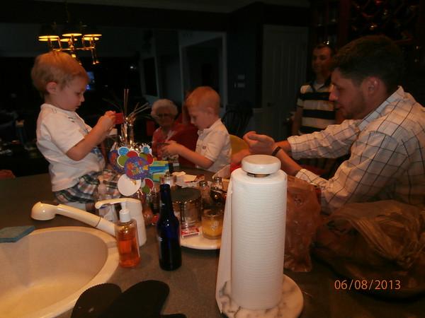 Ethan's 6th Birthday 2013
